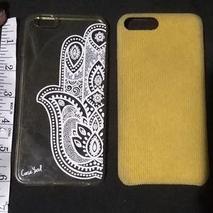 2 iPhone cases